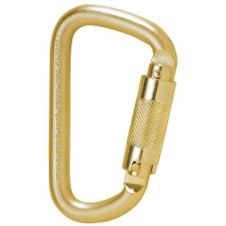 TOPLOCK TWIST LOCK ACÉL KARABINER, 19MM
